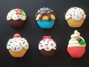 Magnets cupcakes (2016)