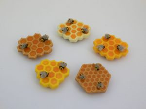 Magnets nids d'abeilles (2016)